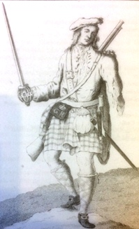 James Campbell of Black Watch at Fontenoy