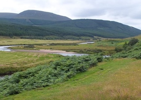 strath of kildonan with river helmsdale, Bill Brown